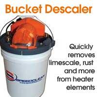Bucket Descaler Portable LimeScale Remover