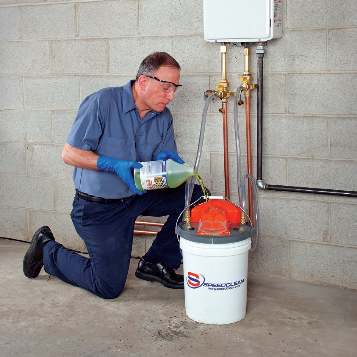 Image Result For Flush Tankless Water Heater