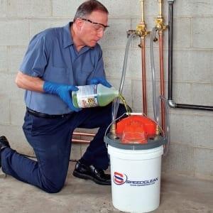 SpeedClean BucketDescaler Tankless Water Heater Descaler