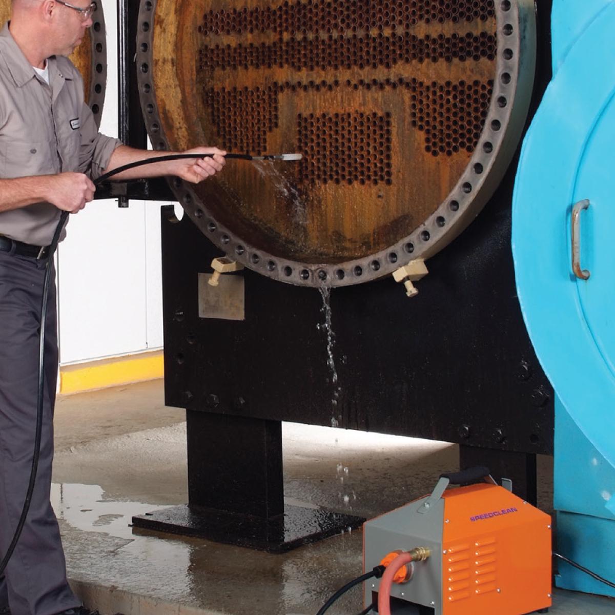 Chiller Tube Cleaner Heat Exchanger Tube Cleaner