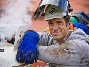 Image from TV show Dirty Jobs by Mike Rowe