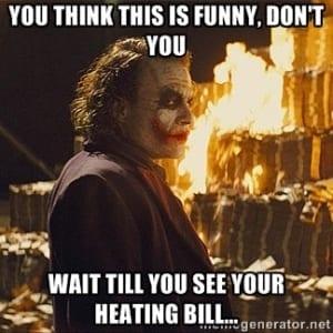 Heating Bill SpeedClean