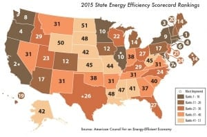 America's Most Energy Efficient States 2015 SpeedClean
