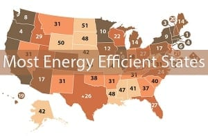 Most Energy Efficient States SpeedClean