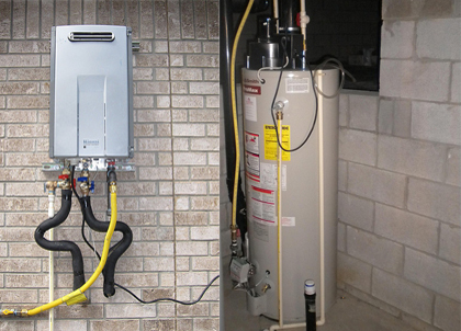 Water Heater War Tankless or Traditional SpeedClean