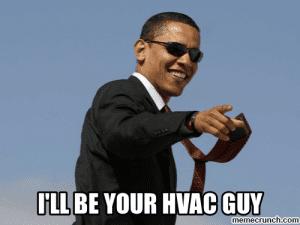 Obama HVAC Meme SpeedClean