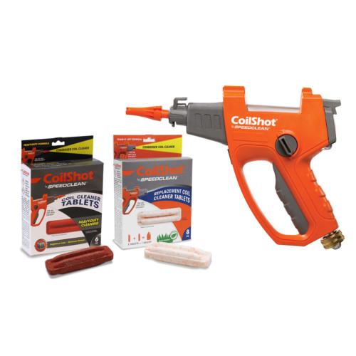 CoilShot Condenser Coil Cleaner system