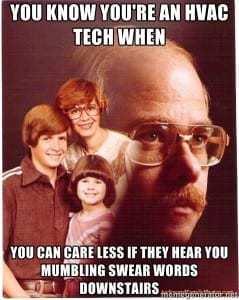 HVAC Tech Meme SpeedClean