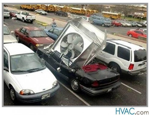4 Funny HVAC Photos
