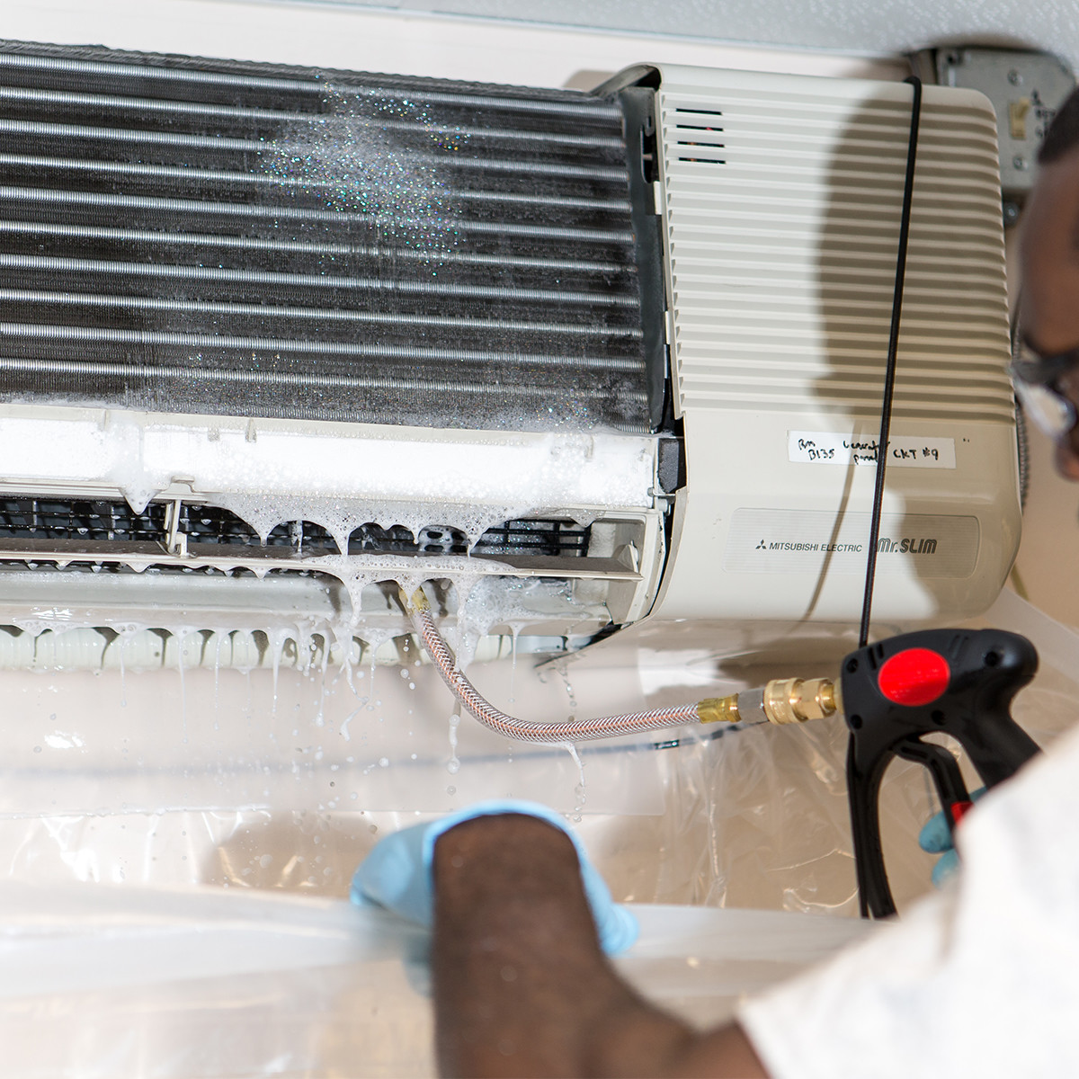 Commercial Ductless Coil Cleaner