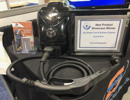 SpeedClean's Dry Steam Coil & Surface Cleaner is a Winner at CIPHEX West!
